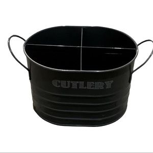 New tin cutlery container